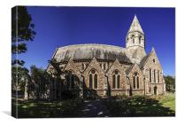 Holy Trinity Church Folkestone, Canvas Print