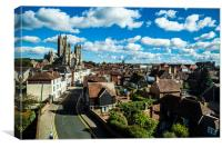 Canterbury, Canvas Print