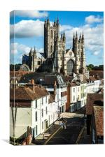 Canterbury Cathedral, Canvas Print