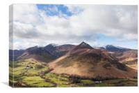 Causey Pike, Canvas Print