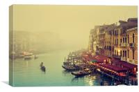 Grand Canal, Venice - Italy, Canvas Print