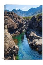 Fairy Pools Isle of Skye, Canvas Print