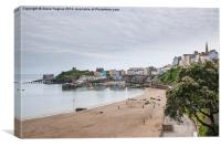 Tenby from the Promenade, Canvas Print