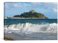 Mounts Bay Summer, Canvas Print