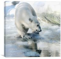 lovely weather today, Canvas Print
