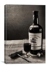 Glass of Port, Canvas Print