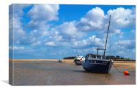 Estuary Mooring, Canvas Print