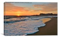 Porthcawl Sunset, Canvas Print