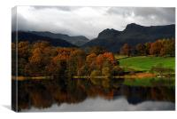 The Langdale Pikes, Canvas Print