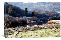 Wintertime in the Lake District, Canvas Print