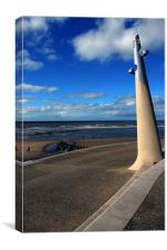 The New Cleveleys Blackpool, Canvas Print