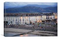 Llandudno at Dusk, Canvas Print