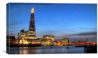 The Shard at Sunset., Canvas Print