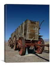 Borax Mine Truck  Death Valley, Canvas Print