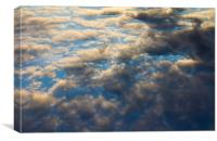 Heavenly Clouds, Canvas Print