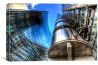 Lloyd's And Willis Group London, Canvas Print