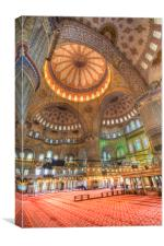 The Blue Mosque Istanbul Turkey, Canvas Print