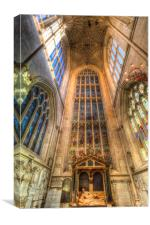 Bath Abbey , Canvas Print