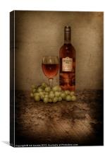 GOOD WINE, Canvas Print