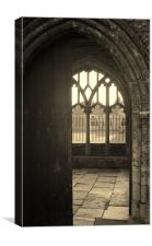Chichester Cathedral Doorway, Canvas Print