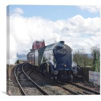 Gresley A4 Pacific Steam Locomotive, Canvas Print