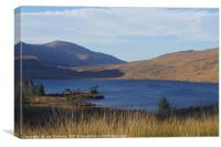 Loch Dee, Dumfries and Galloway, Canvas Print