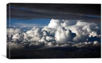 Above the Clouds, Canvas Print