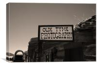Old Tyme, Canvas Print