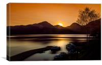 Loch Lomond Updated, Canvas Print
