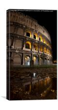 The Coliseum, Canvas Print