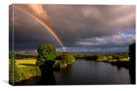 The River Beauly, Canvas Print