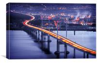 Kessock Bridge Inverness, Canvas Print