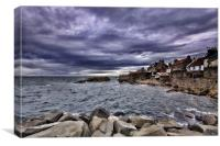 Anstruther Seaview, Canvas Print