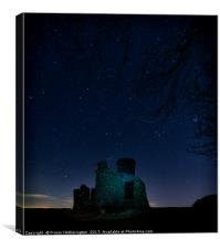 Towering amongst the Stars, Canvas Print
