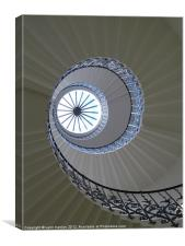 Tulip stairs queens house Greenwich, Canvas Print