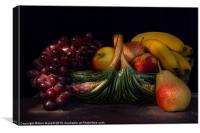 Fruit Still Life, Canvas Print