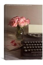 The Love Letter, Canvas Print