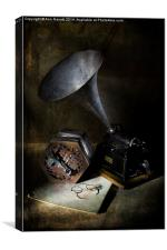 The Phonograph 3, Canvas Print