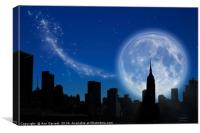 New York Fantasy, Canvas Print