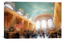 Grand Cental Station New York, Canvas Print