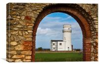 Old Hunstanton Lighthouse, Canvas Print
