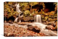 Lumsdale Falls 2, Canvas Print