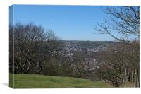 Colne Valley View, Canvas Print