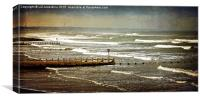 Waves at Aberdeen Beach, Canvas Print