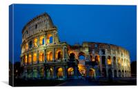 The Colloseum, Canvas Print