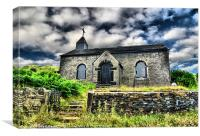The chapel of St James, Canvas Print