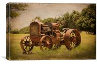Rusty Relic, Canvas Print
