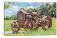 Rusty Relic 2, Canvas Print