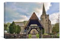 St Denys Church Rotherfield, Canvas Print