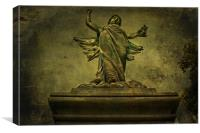 Watching Over Me, Canvas Print